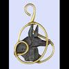 Pendentif Anubis