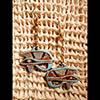 Boucle D'oreille Amulette Oeil D'Horus