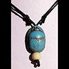 Collier Pendentif Amulette Scarabée