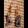 Boucle D'oreille Amulette Bastet