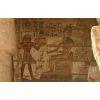 Scène D'offrande De Ramsès III Au Dieu Horus, Temple Des Millions D'années De Ramsès III À Medinet Habou, Louxor