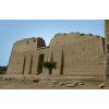 Façade Du Temple Des Millions D'années De Ramsès III À Medinet Habou, Louxor.