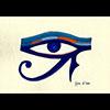 Peinture Gouache Sur Papier Type Canson : Oeil D'Horus