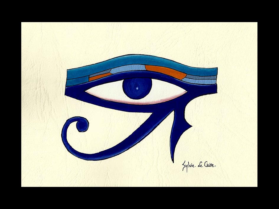 Artisanat d 39 egypte nos produits gouache carte a4 15 10 5 cms for Peinture sur papier