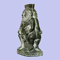 Statue Du Dieu Bés - 34Ko