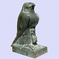 Statue Du Dieu Horus D'Edfou