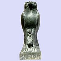 Statue Du Dieu Horus D'Edfou - 31Ko