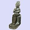 Statue Du Dieu Osiris
