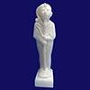 Statue Du Pharaon Toutankhamon En Dieu Khonsou
