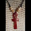 Pendentif Amulette Ankh  En Steatite
