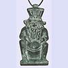 Amulette Du Dieu Bès En Stéatite