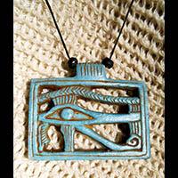 Pendentif Amulette Oeil D'Horus - 64Ko