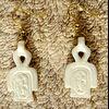 Pendentif Boucles D'oreilles Amulette Noeud D'Isis Ou Noeud Tit