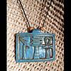 Collier Pendentif Amulette Des 3 Symboles « Ouas, Djed Et Ankh»