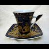 Service De 6 Tasses À Café Avec Assiettes
